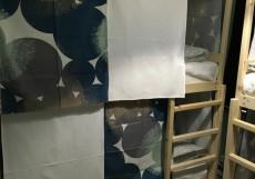 ХОСТЕЛЫ РУС - ВНУКОВО | п. Внуково Двухъярусная кровать в общем номере для мужчин и женщин с 4 кроватями