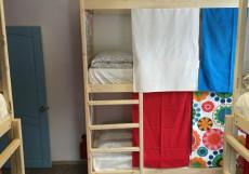 ХОСТЕЛЫ РУС - ВНУКОВО | п. Внуково Спальное место на двухъярусной кровати в общем 6-местном номере для мужчин и женщин