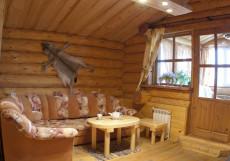 ЭКОТЕЛЬ - коттеджи | cауна | рыбалка | детская площадка Улучшенный коттедж четырехместный