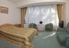 УНИВЕРСАЛ | Светлогорск | 100 м от берега Балтийского моря | конференц-зал | Двухместный номер с основными удобствами и 1 кроватью