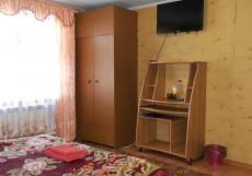 Алтын Туяк | Горно-Алтайск | горнолыжный курорт | катание на лыжах | Двухместный номер с 1 кроватью и видом на озеро