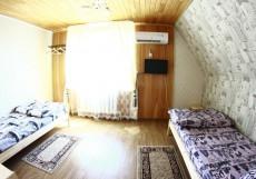 Кедровый Дом Кочиевских | Горно-Алтайск | горнолыжный курорт | катание на лыжах | Стандартный двухместный номер с 2 отдельными кроватями