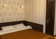 Хижина | г. Петропавловск | Железнодорожный вокзал | Бесплатный Wi-Fi Бюджетный двухместный номер с 1 кроватью