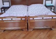 Guest House Saba | Гвест Хаус Саба | Казбеги | отличный вид на горы | барбекю | Большой двухместный номер с 2 отдельными кроватями
