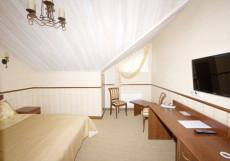 ЦАРСКАЯ ОХОТА КЛУБ-ОТЕЛЬ Улучшенный двухместный с одной кроватью
