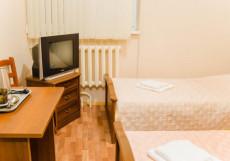 Отель в Центре | г. Уфа | Бассейн | Сауна | Двухместный номер эконом-класса с 2 отдельными кроватями и ванной комнатой