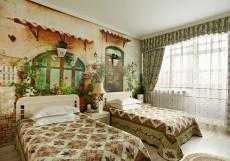 ГРИН ХАУС - GREEN HOUSE | г. Тюмень, центр | Парковка | Сауна | Бассейн Стандарт двухместный (2 односпальные кровати)