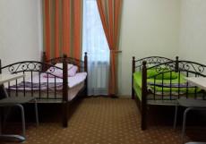 КОМФОРТ ПАРК | м. ВДНХ Двухместный номер с двумя отдельными кроватями и общей ванной комнатой