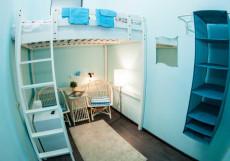 HOLLYWOOD | м. Перово Бюджетный двухместный с одной кроватью в мансарде