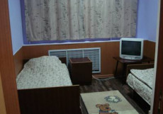 Северное Сияние | Воркута | река Воркута | парковка | Односпальная кровать в общем номере с 2 кроватями