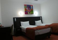 ЕЛОХОВСКИЙ СИТИ | м. Бауманская Бюджетный двухместный с одной кроватью или двумя отдельными кроватями без окна