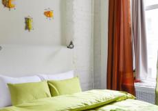 СТАНЦИЯ К43 | Санкт-Петербург | Семейные номера | С кухней Стандарт двухместный (1 двуспальная или 2 односпальные кровати)