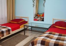 DELIGHT INN ПОЛЯНКА | м. Полянка Двухместный комфорт с двумя отдельными кроватями и видом на сад