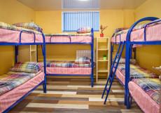 ДЕ-Хостел | м. Красносельская | м. Комсомольская Койко-место на двухъярусной кровати в общем номере для мужчин и женщин