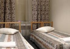 Hostel Sloboda на НОВОСЛОБОДСКОЙ | м. Менделеевская | Wi-Fi Двухместный (1 двуспальная или 2 односпальные кровати, общая ванная комната)