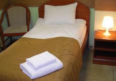 ХОСТЕЛ НА БЕЛОРУССКОМ   м. Белорусская Двухместный эконом-класса с двумя отдельными кроватями и общей ванной комнатой