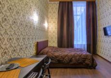 МИНИ-ОТЕЛЬ МИЛАНА | м. Рязанский проспект Двухместный делюкс с одной кроватью