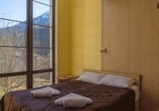 Bridge Mountain Красная Поляна | семейные номера | Сауна | с завтраком Двухместный номер эконом-класса с 1 кроватью или 2 отдельными кроватями