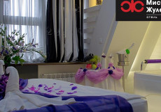 Мистер Жулебин | г. Москва | м. Лермонтовский проспект | Сауна Номер «Комфорт» с кроватью размера «king-size» и гидромассажной ванной