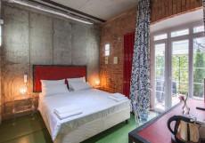 БРОНЗОВЫЙ КАБАН | Воронеж Улучшенный двухместный с одной кроватью или двумя отдельными кроватями и внутренним двориком