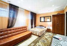 Gostiniy Dvor | Ачинск | Ачинский краеведчский музей | Сауна | Двухместный номер Делюкс с 1 кроватью + дополнительная кровать