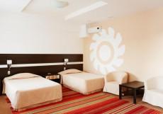 ПАРКСИТИ | В центре | Сауна | Парковка Улучшенный двухместный (2 кровати)