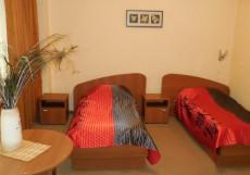 Славянка | Белгород | Соборная площадь | Парковка Двухместный номер с 2 отдельными кроватями и балконом