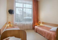 AVS Отель | г. Екатеринбург | Завтрак включён | Разрешено с животными Двухместный (2 односпальные кровати)