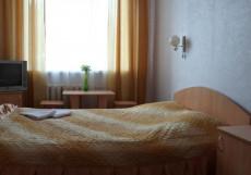ЕВРО | стадион Прогресс | cауна l джакузи | массаж Бюджетный двухместный с одной кроватью