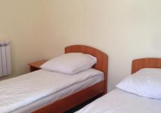 Abzakovo Weekend | пос. Абзаково | р. Кульсугады | Сауна | Бюджетный двухместный номер с 1 кроватью или 2 отдельными кроватями