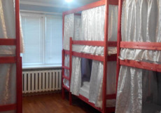 LIKE IT ХОСТЕЛ НА УЛ. ДРУЖБЫ НАРОДОВ (ЗАКРЫТ) Кровать в 6-ти местном номере