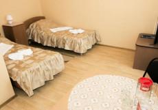 Звездный   г. Ангарск   р. Китой   Сауна   Двухместный номер с 2 отдельными кроватями
