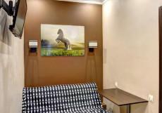 Брусника Щелковское (м. Щелковская, возле Автовокзала) Улучшенный двухместный номер с 2 отдельными кроватями
