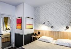 Mops Hotel&Spa | м. Площадь Восстания | Дмитровский сквер | Сауна Стандартный двухместный номер с 1 кроватью или 2 отдельными кроватями