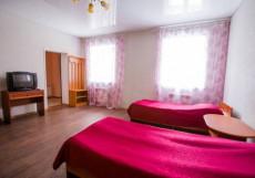 ЭЛЬБРУС | Домбай | 400 м от подъемника Двухместный эконом-класса с двумя отдельными кроватями