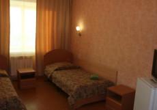Лайнер | Якутск | Река Лена | Караоке Бюджетный двухместный номер с 2 отдельными кроватями