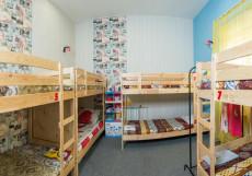 Хостел Лондон | Якутск | сквер Декабристов | Парковка Кровать в общем 8-местном номере для мужчин