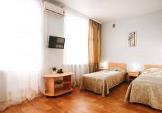 Чайка | г. Чайковский | р. Кама | Сауна | Улучшенный двухместный номер с 2 отдельными кроватями