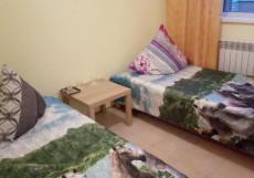 Черемшан | Якутск | оз. Белое | Сауна | Двухместный номер с 2 отдельными кроватями и балконом