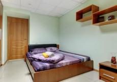 БРУСНИКА | м. Нагатинская Двухместный без окна с одной кроватью