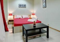 БРУСНИКА | м. Нагатинская Двухместный с одной кроватью и общей ванной комнатой