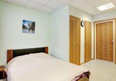БРУСНИКА | м. Нагатинская Двухместный с одной кроватью и окном