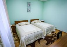 БУШУЕВЪ | ЗЛАТОУСТ | р. Ай | Сауна | Двухместный номер с 2 отдельными кроватями и душем