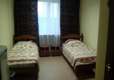 АСКА (м. Дмитровская) Двухместный с двумя отдельными кроватями и собственной ванной комнатой