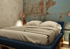 ХОСТЕЛ ICON | м. Деловой центр Двухместный с одной кроватью и общей ванной комнатой