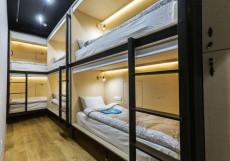 ХОСТЕЛ ICON | м. Деловой центр Койко-место в общем номере с 6 кроватями