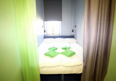 СОЛЯНКА | м. Чистые пруды | м. Тургеневская Двухместный с одной кроватью, общими душем и туалетом