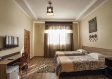 Ethno Osh | Ош | р. Акбура | Дартс | Улучшенный двухместный номер с 2 отдельными кроватями