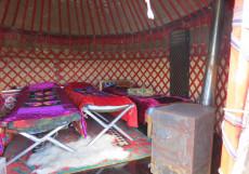 Nomad Yurt Hostel | Чолпон-Ата | Иссык-Кульский музей-заповедник | дартс Кровать в общем 10-местном номере для мужчин