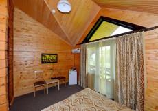 ПАРК ХАДЖОХ | Каменномостский | Лаго-Наки | С завтраком Улучшенный двухместный (1 кровать, балкон)